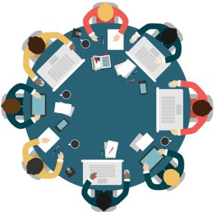 Round table graphic